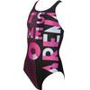 arena Dashboard Badpak Kinderen roze/zwart